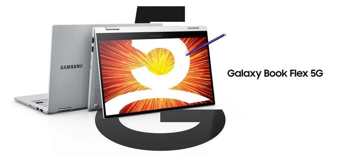 Samsung Galaxy Book Flex 5G presented