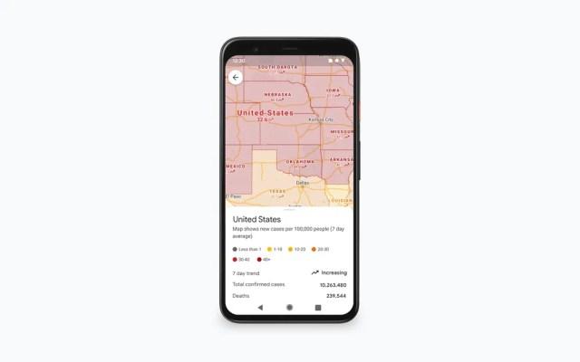 Google Haritalar Covid Katmanı