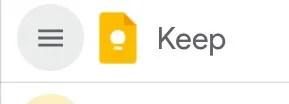 Google Keep Logo 2020