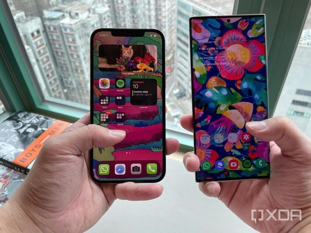 Note 20 Ultra and iPhone 12 Pro Max