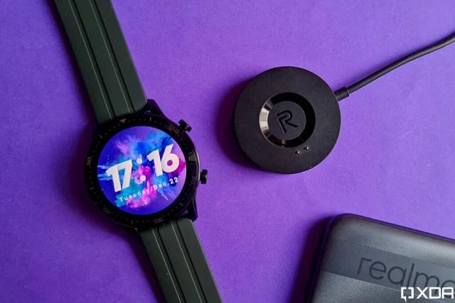 Realme Watch S Pro charging cradle