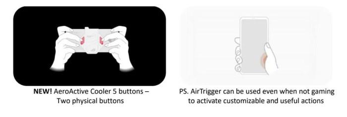 ASUS ROG Phone 5 Back triggers