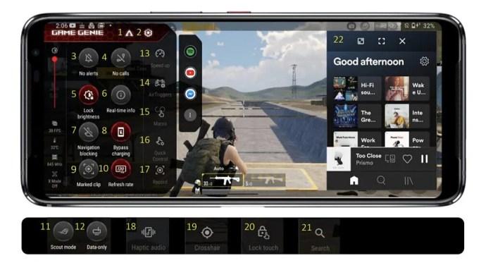 ASUS ROG Phone 5 Game Genie