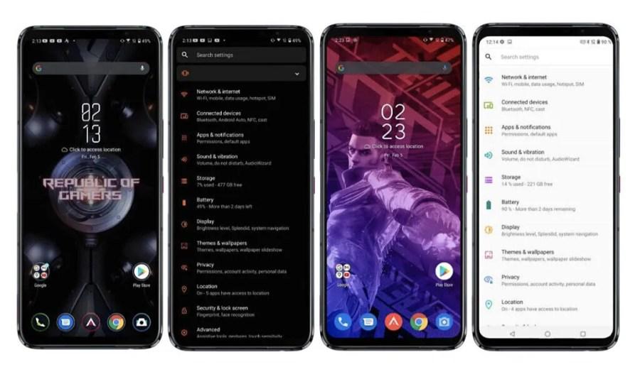 ASUS ROG Phone 5 Zen UI