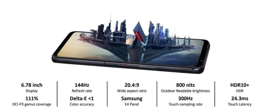 ASUS ROG Phone 5 display