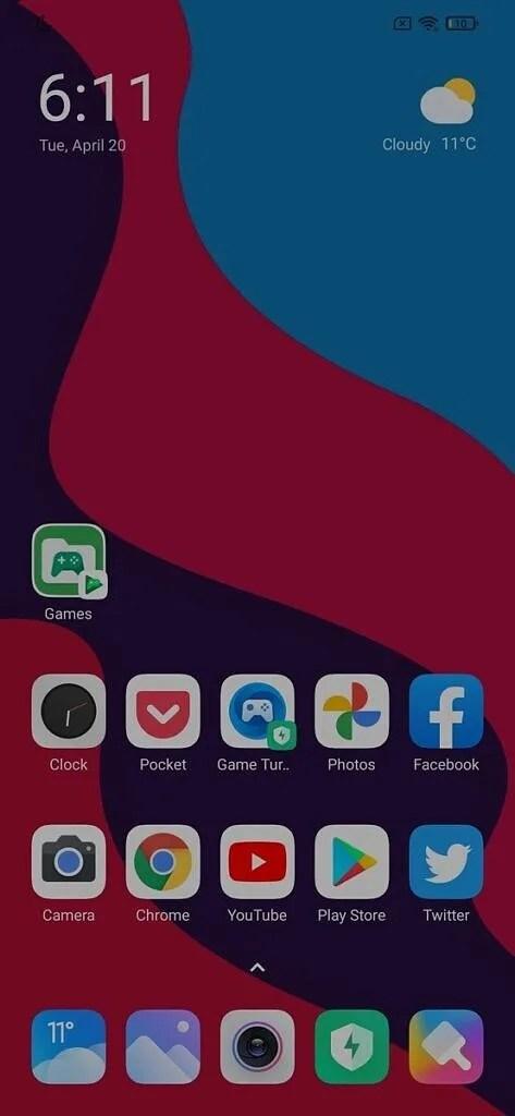 Carpeta de juegos creada por Google Play Games