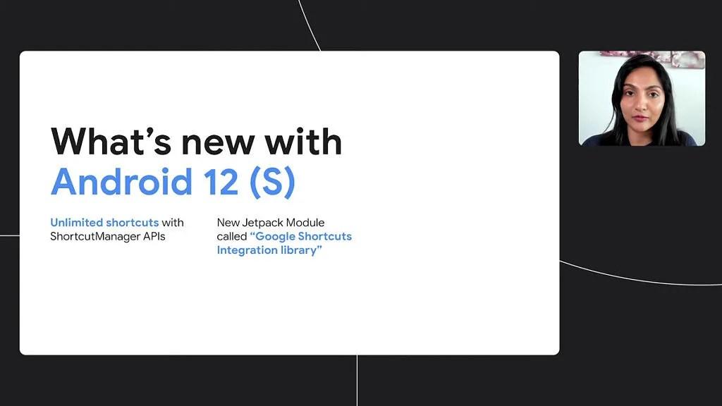 Atajos ilimitados en Android 12