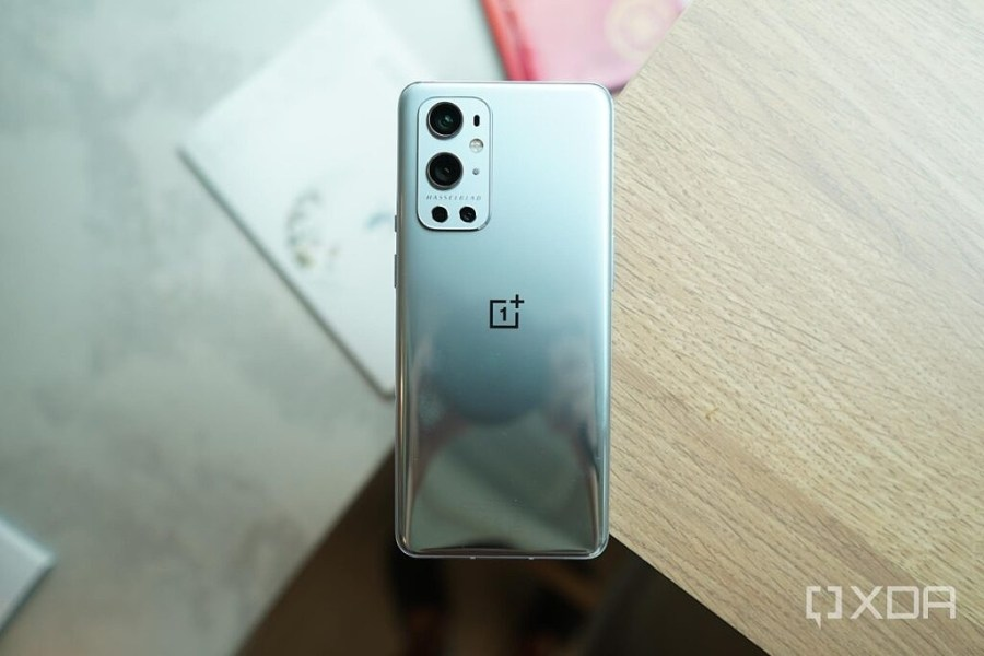 OnePlus 9 Pro on a table
