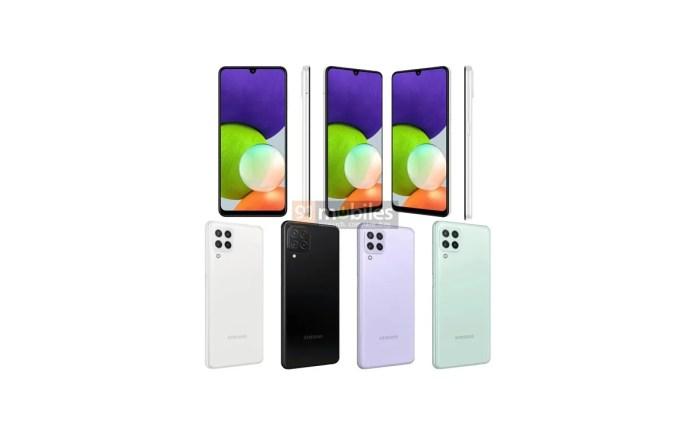 Samsung Galaxy A22 4G render
