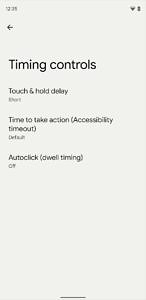 Timing controls in Android