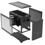 Cooler Master MasterBox NR200P Max exploded view