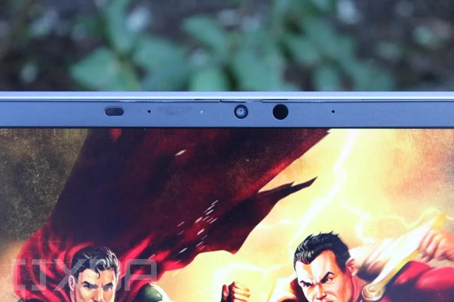 Close up of HP ZBook Firefly G8 webcam