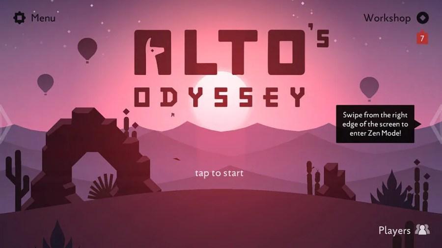 Alto's Odyssey on Chromebook