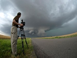 alister-and-supercell-300x225 Documentary Production Workshop, Chasing Storms in the Mid West.