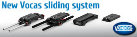 XDCAM-sliding-system-v2 Adaptimax Lens Mount Adapters for PMW-F3, Canon and Nikon.