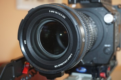 AJC03718-1024x681 The new Sony FS7 zoom lens, the Sony SELP18110G.