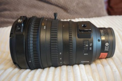 AJC03729-e1487018834354 The new Sony FS7 zoom lens, the Sony SELP18110G.