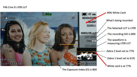 s709-LUT-correct-version-2 A Guide the the FX6's CineEI Mode.