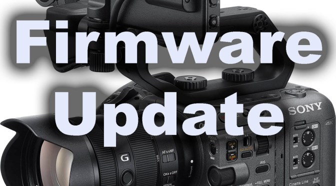 Firmware Update For The FX6 (V1.01). Fixes CineEI Playback ISO levels