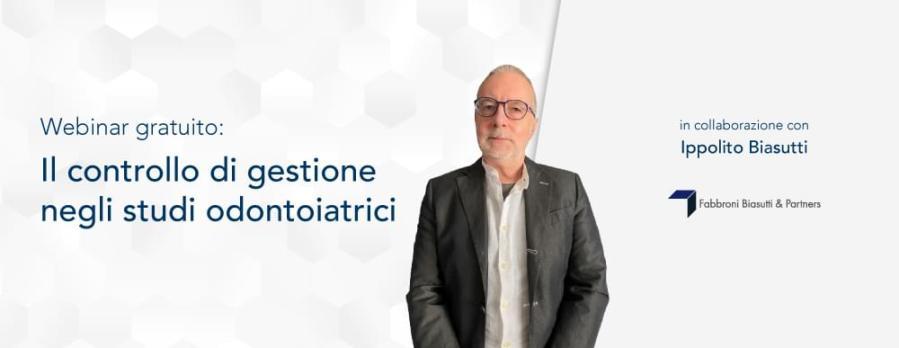 """""""Il controllo di gestione negli studi odontoiatrici"""" – Ippolito Biasutti"""