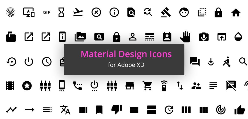 1000 free material icons