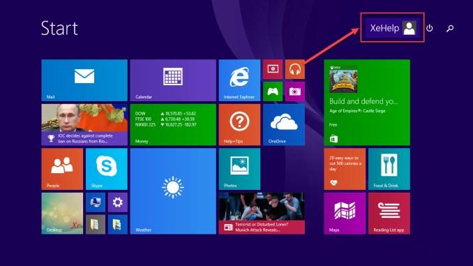 Create windows 8.1 Local Account