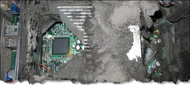 Clean Dust From Computer Hardware-Make Your Computer Run Faster