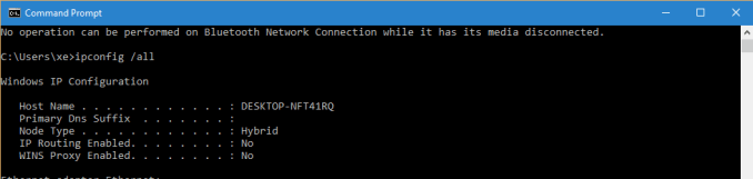 DNS Probe Finished No Internet