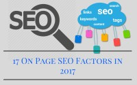 17 On Page SEO Factors in 2017