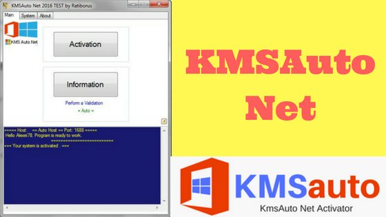 How To Activate Windows 10 Via [ KMSAuto Net exe ]