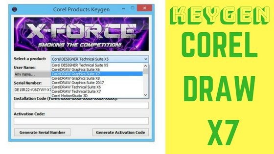 xforce keygen for corel draw x6