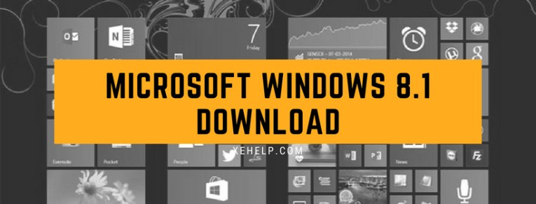 Microsoft windows 8.1 Download