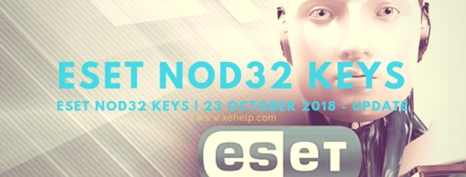 eset nod32 security 9 license key 2018