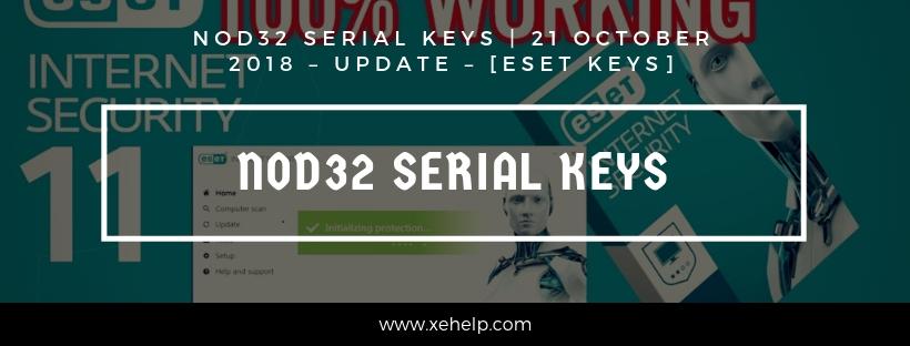 Nod32 Serial Keys