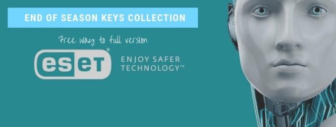 Eset Nod32 key  18-1-2019