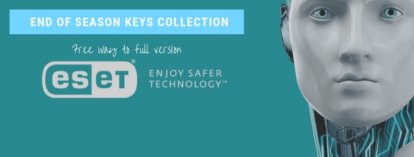 Eset Nod32 key| 18-1-2019