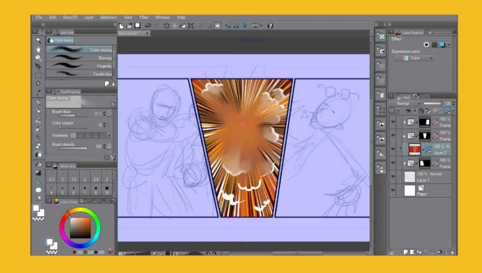 Clip Studio Paint EX 1.8.7 Crack + Full Version