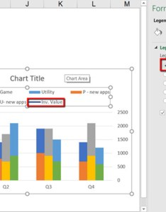 Moving the legend to top and deleting all extra unnecessary entries also create  clustered stacked column chart in excel easy rh xelplus