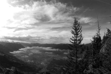 Der Aufstieg aufs Stanserhorn