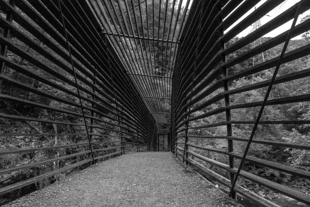 Holzbrücke Areuse