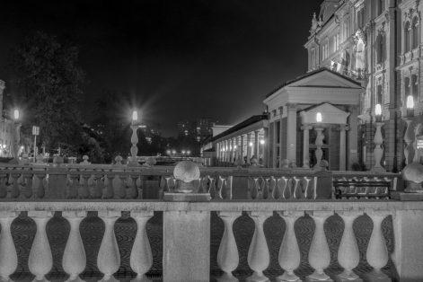 Ljubljana, und sein Savoir-vivre