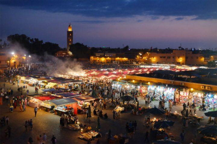 Marrakech – die touristische Königsstadt