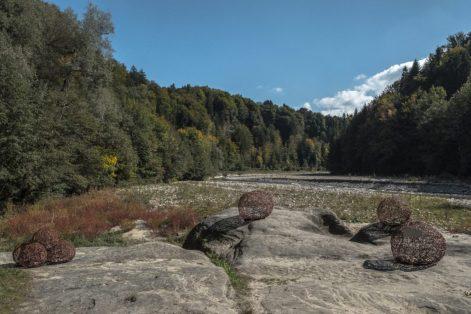 Confluens Schwarzwasser et Sense