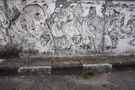 Streetart, made in Malaysia
