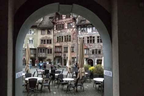 Die farbenfrohen Fassaden von Stein am Rhein
