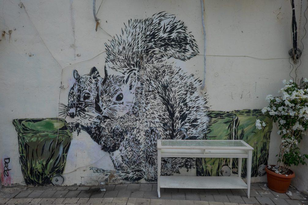Streetart Tel Aviv
