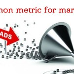 Why are leads the most common metric for marketing