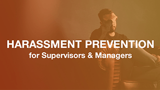 Manager Harassment Online Training
