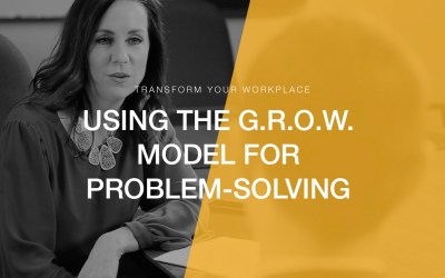 Transform Your Workplace 08 | GROWing Through Professional Problems