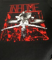 """INHUME """"Exhume: 25 Years of Decomposition"""" (merch. detail)"""